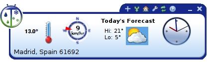 Weatherbug el tiempo en tu escritorio ubuntu life - El tiempo en tu escritorio ...