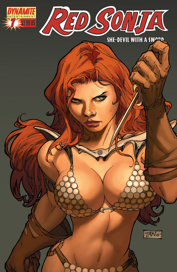 Superhero Wallpapers-Red Sonja 2