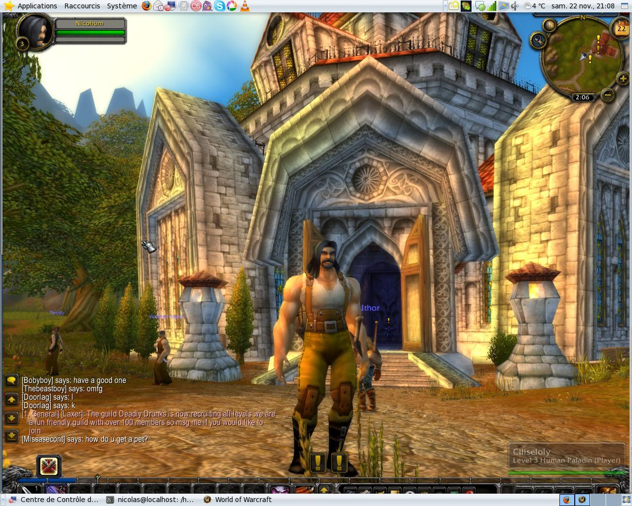World of warcraft ubuntu ~ Nearya