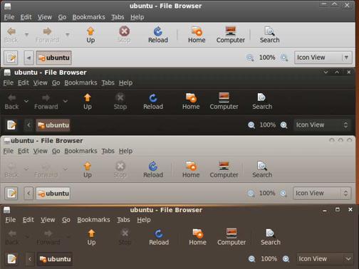 Como cambiar el tema de Ubuntu 9.04