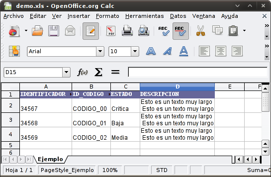 Hoja de cálculo de Excel de opciones binarias