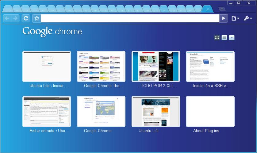 Tip: Seleccionar temas para Google Chrome   Ubuntu Life