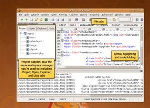 UEX, El editor de textos UltraEdit en Linux