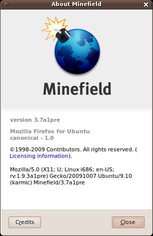 Firefox 3.7 alpha