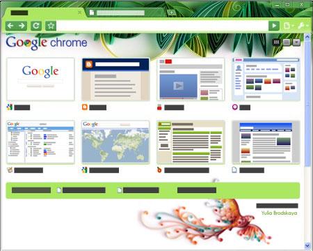 Nuevos temas de artistas para Google Chrome | Ubuntu Life