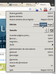 Tip Usar El Nuevo Menu De Chrome Ubuntu Life
