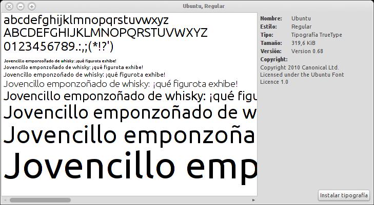 Mi Top de Fuentes de Textos para Ubuntu | Ubuntu Life Ubuntu Font
