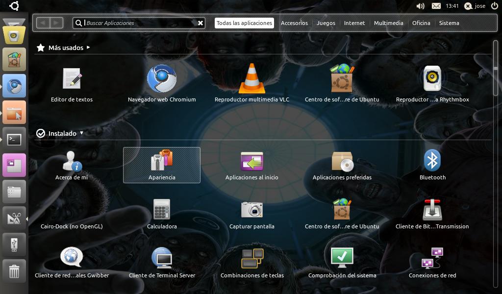 Cambiar el tema y fondo de pantalla en Unity | Ubuntu Life