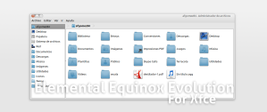 Elemental Equinox para XFCE