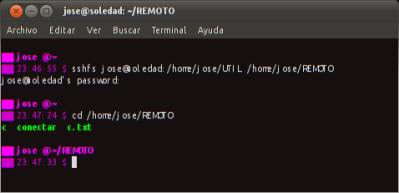 Mejorando la Productividad: Montar un sistema de archivos remoto en nuestro sistema de archivos local mediante SSH
