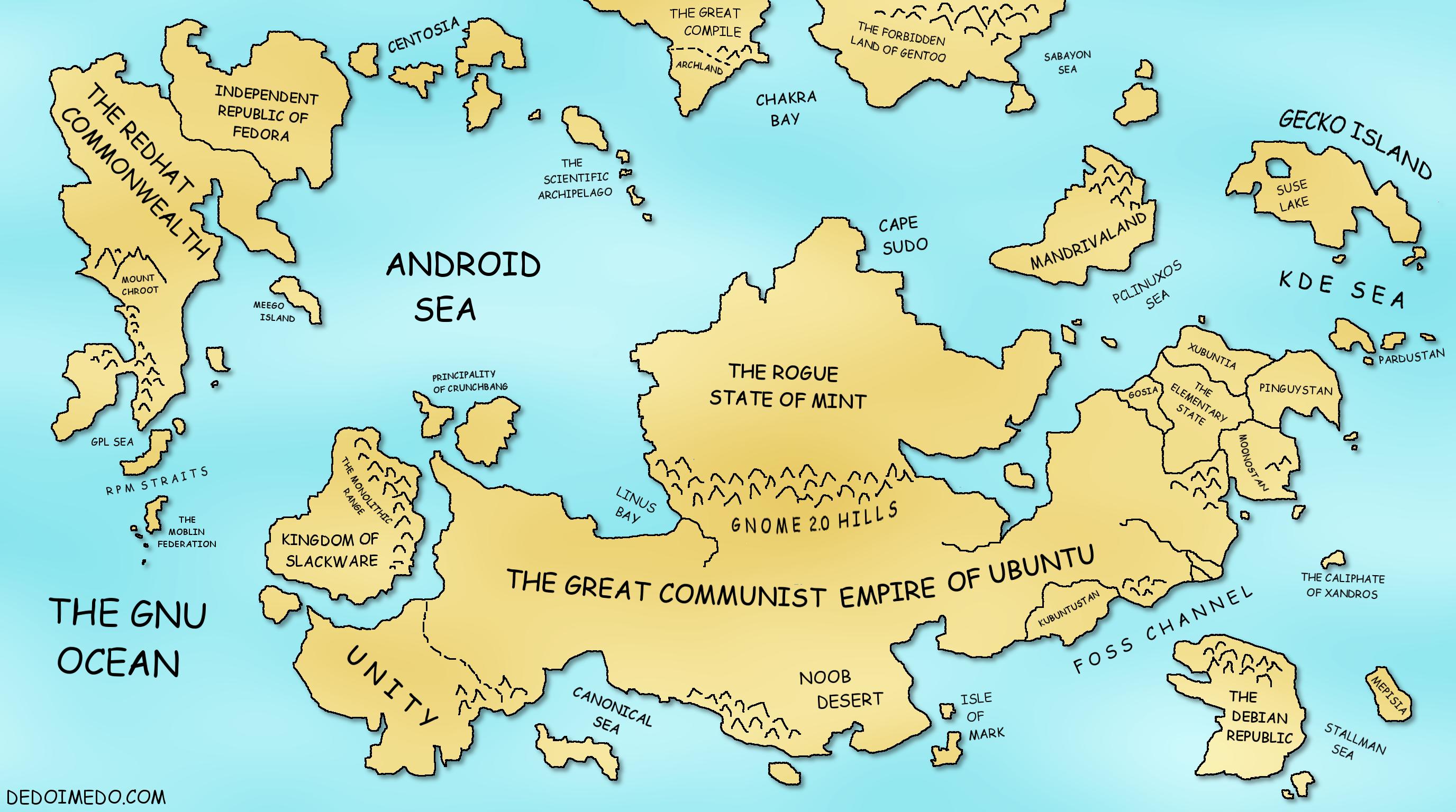 utc  world map