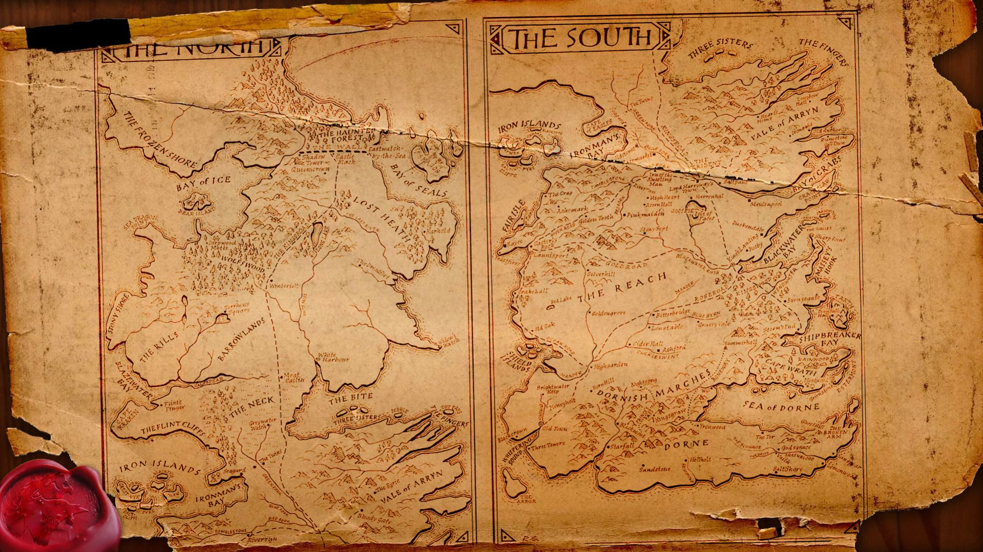 Mapa De Westeros Wallpaper Ubuntu Life